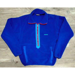 Patagonia Mens Blue Pullover Jacket Size Small
